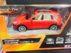 Автомобиль радиоуправляемый - Porsche Cayenne S красный, 116