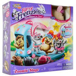 Furry Frenzis игровой набор с автобусом hasbro