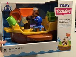 Игрушка для ванной Пиратский корабль TOMY Т71602