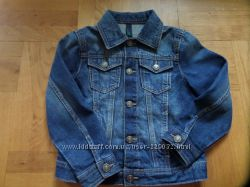 демісезонні курточки Timberland та Fila, джинс. курт. Prenatal та Benetton
