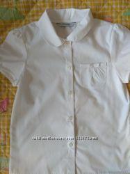 шкільні блузки George довгий короткий рукав, ідеальний стан