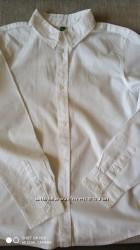 біла сорочка Benetton, відмінний стан