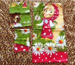 Продам постельное белье для ребенка с Машей и Медведем Размеры 147Х215-про