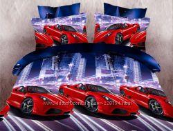 Подростковое постельное белье для мальчика Ferrari