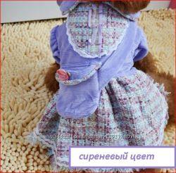Платье на собачку. Комбинезон.
