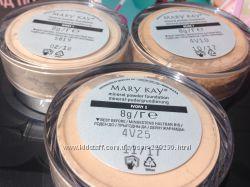 Минеральная рассыпная пудра Mary Kay Ivory1, Ivory2, Беж1, прозрачная