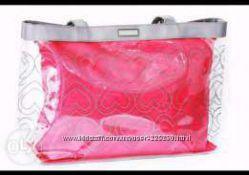 Пляжная сумка Mary Kay из прозрачной ткани