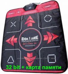 Танцевальный коврик для Телевизора и ПК 32 бита  карта памяти