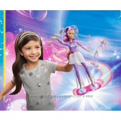 Кукла с ховербордом из серии Barbie и космическое приключение