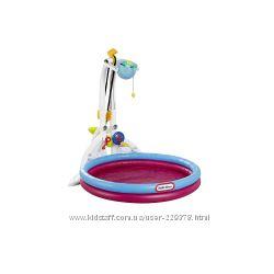 Игравая зона с фантаном , шариками и надувным бассейном Little Tikes