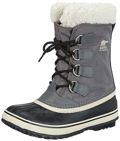 Зимние непромокаемые ботинки сорел W6. 5- с валеноком SOREL Winter Carnival