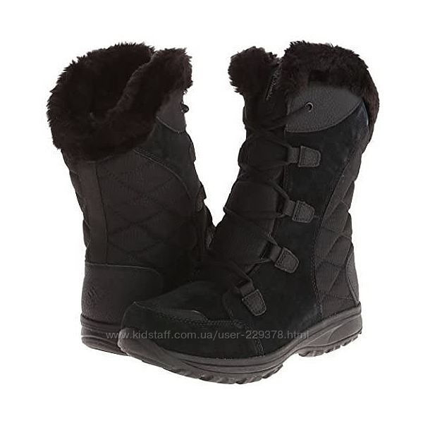 Ботинки Оригинал коламбия 37 38 39 40 черные Columbia Women&acutes Ice Maid