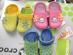 Kids Crocs Chameleons вся ростовка  крокс хамелеон детская обувь для лета