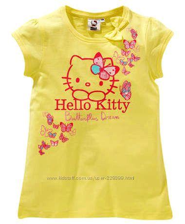 Футболочка Hello Kitty р. 116, 122