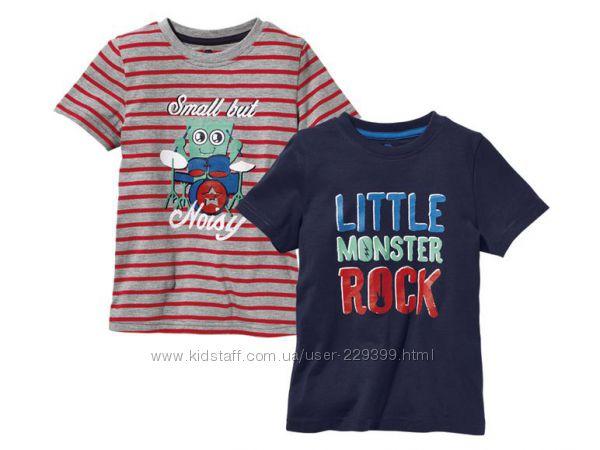 Набор футболок Lupilu Германия р. 110, 116