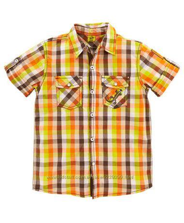 Рубашка kiki&koko Германия р. 110, 122