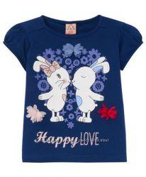 Красивая футболка Kiki&koko р. 122