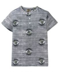 Прикольная футболка Kiki&koko р. 110