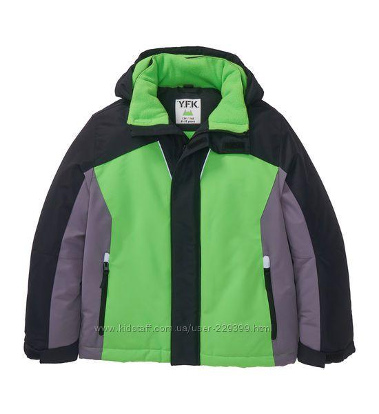Зимняя термокуртка y. f. k р. 158. 164