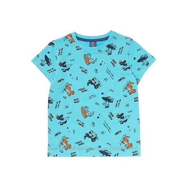 Яркая футболка kiki&koko германия р. 116. 122