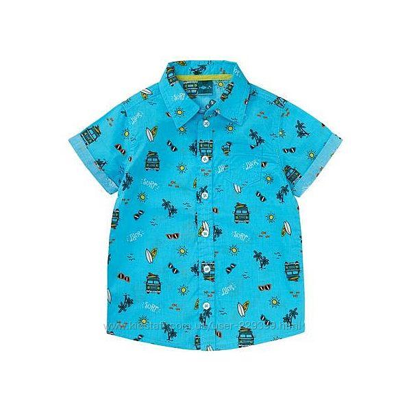 Яркая рубашка kiki&koko германия р. 110, 122