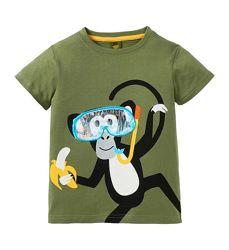 Прикольная футболка kiki&koko р.116,122