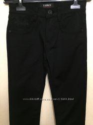 Черные школьные брюки Yuke