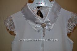 Нарядная блузочка с коротким рукавом
