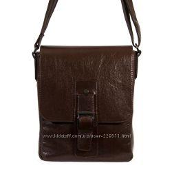 Кожаная сумка. Черная и коричневая.