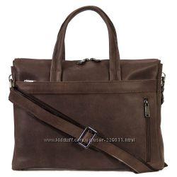 Стильная сумка-унисекс, кожа.
