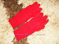 Рукавицы красные