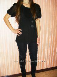 Кофта, блуза черная