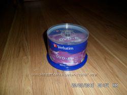 Диски болванки VERBATIM DVD R 4, 7Gb 16x упак 50 шт