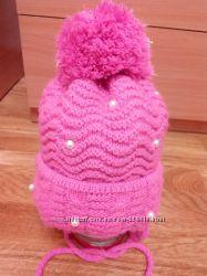 Красивая шапка зима