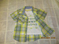 Рубашки pumpkin patch для мальчика 2 года
