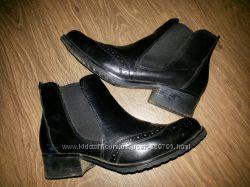 Кожаные ботинки-челси