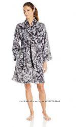 Теплый флисовый халат размер L