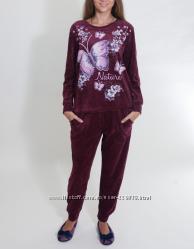 Nicoletta Велюровый костюм для дома и отдыха