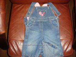 Комбинезон коттон джинс синего цвета