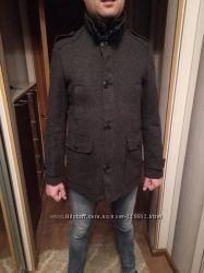 Стильное мужское пальто размер м фирма next
