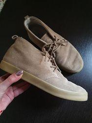 Стильные ботинки дезерты демисезон натуральная замша размер 37