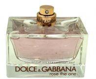DOLCE&GABBANA ROSE THE ONE EDP 75 мл оригинал тестер