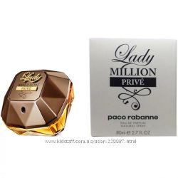Paco Rabanne Lady Million Prive edp 80 ml тестер оригинал