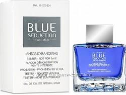 Blue Seduction Antonio Banderas edt 100 ml тестер оригинал