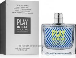 Antonio Banderas Play In Blue Seduction For Men edt 100 ml тестер оригинал