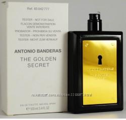 Antonio Banderas The Golden Secret edt 100 ml тестер оригинал