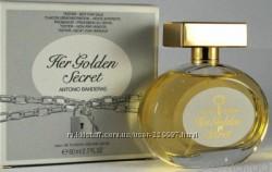Antonio Banderas Her Golden Secret edt 80 ml тестер оригинал