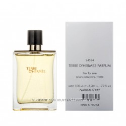 Hermes Terre d&acuteHermes edt 100 ml тестер оригинал