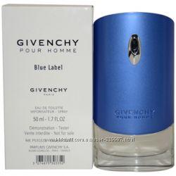 Givenchy Blue Label туалетная вода оригинал тестер 50 мл