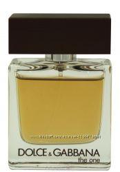 Dolce&Gabbana The One for Men edt оригинал тестер 100мл без крышечки
